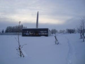 Schneelandschaft in Laguiole