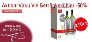 Neue Aktion: Wein- und Getränkekühler im Doppelpack mit 50% Rabatt! Die 2für1 Aktion