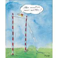 """Gaymann Kollektion Poster """"Schnecke – man muss es nur wollen"""" 50×70 cm"""