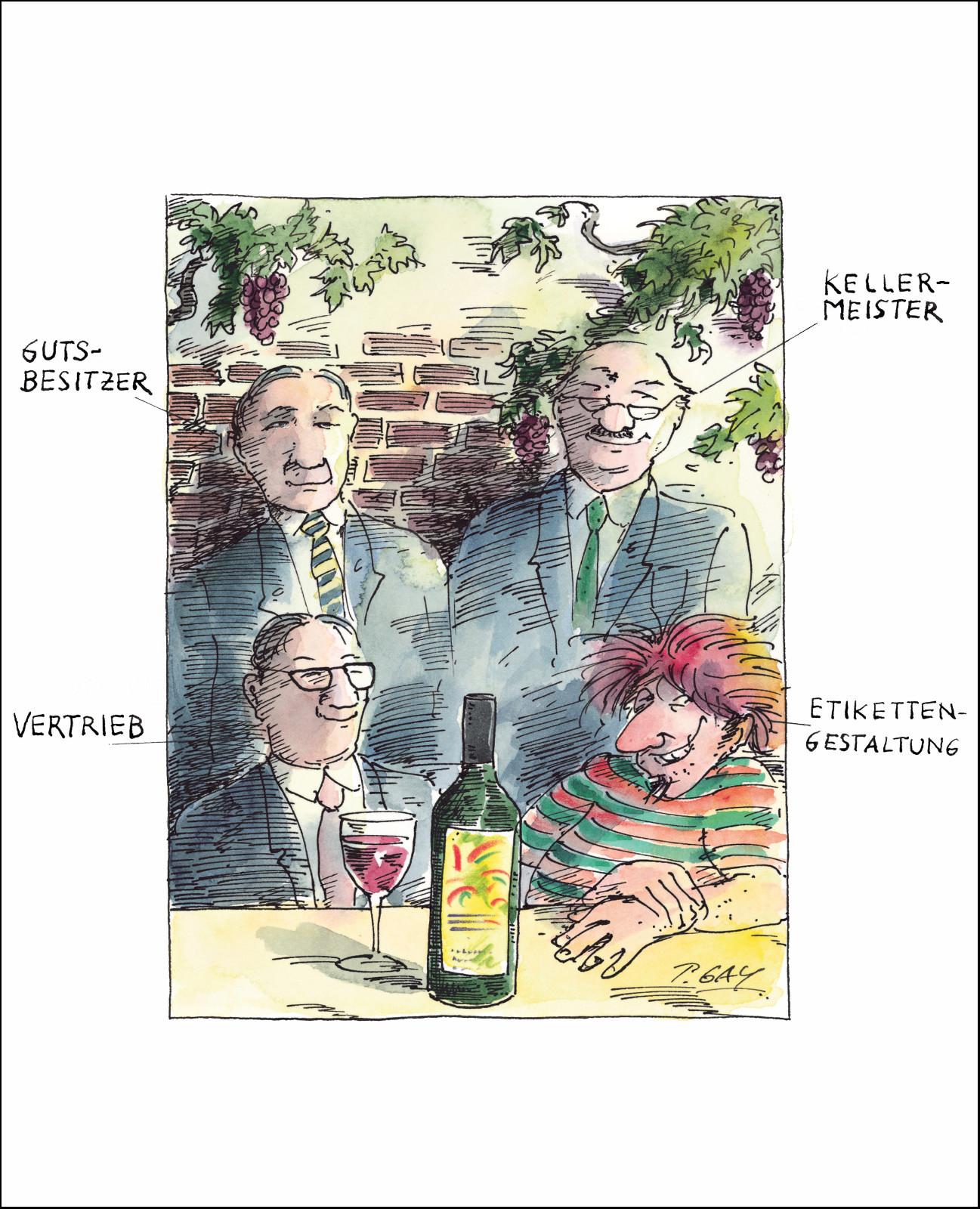 """Gaymann Kollektion Poster """"Kellermeister"""" 40×50 cm"""
