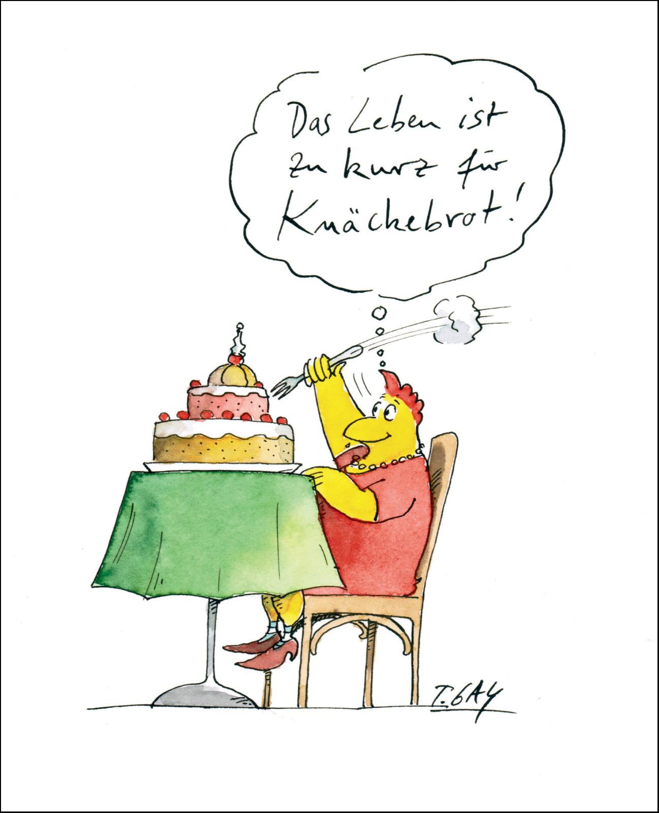 """Gaymann Kollektion Poster """"Knäckebrot"""" 40×50 cm"""