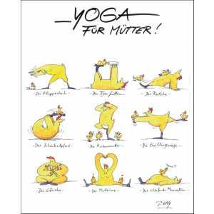 """Gaymann Kollektion Poster """"Yoga für Mütter"""" 40×50 cm"""