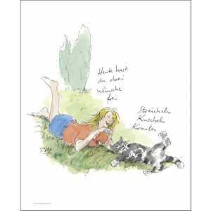 """Gaymann Kollektion Poster """"Drei Wünsche"""", 40x50cm"""