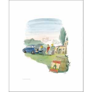 """Gaymann Kollektion Poster """"sieben Paar Schuhe"""", 40x50cm"""