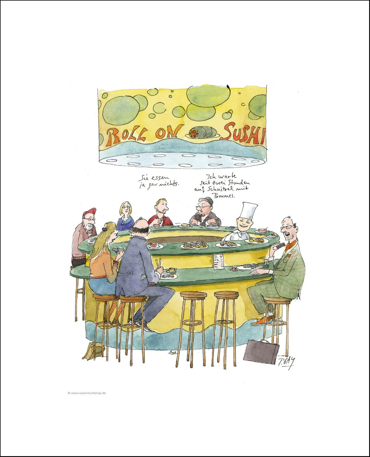 "Gaymann Kollektion Poster ""Sushi"", 40x50cm"