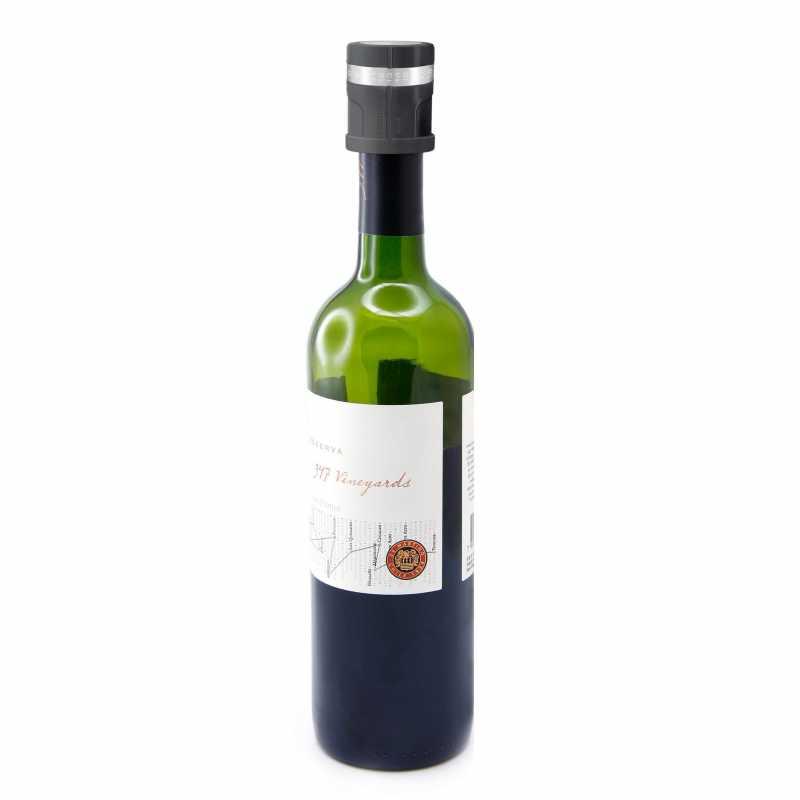 Pulltex Antiox Weinverschluss auf Flasche